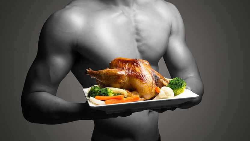 Food for muscle building